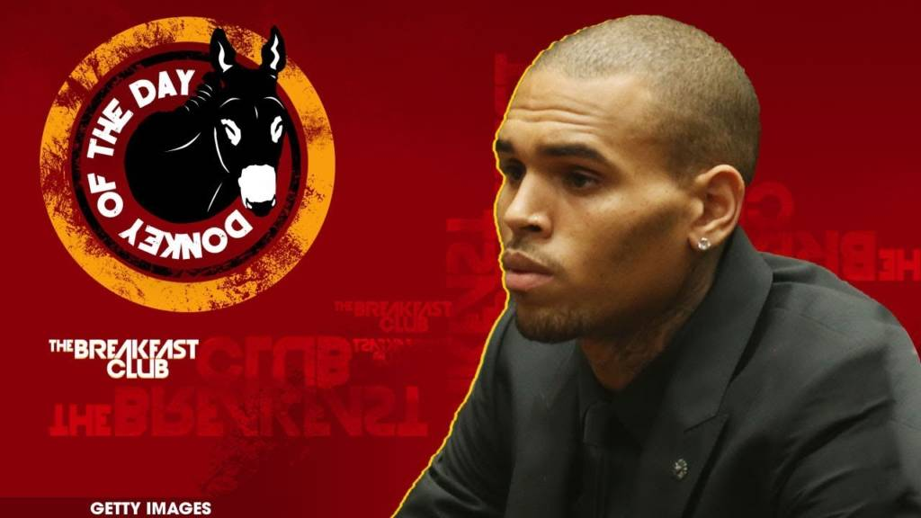 Chris Brown Awarded Donkey Of The Day For Slamming Karrueche's Boyfriend's Style On IG Then Claiming He Was Hacked