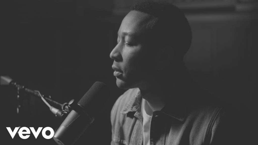 John Legend Performs Piano Version Of His 'Preach' Single