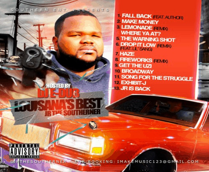 @JrTheSoutherner » The Warning Shot (Hosted By @DJEDub1) [Mixtape]