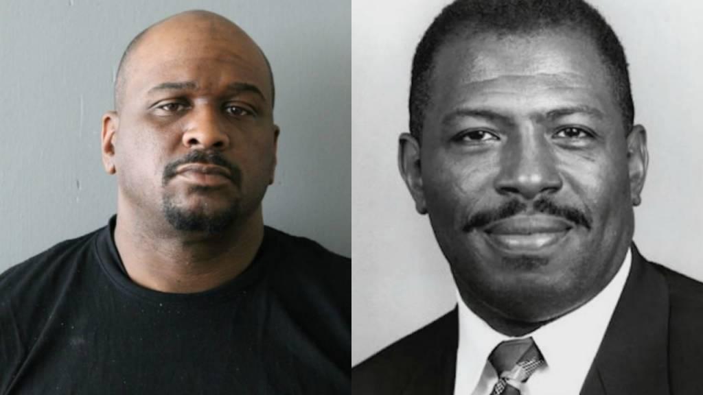 Suspect Joshua Smith & Judge Raymond Myles [Press Photo]