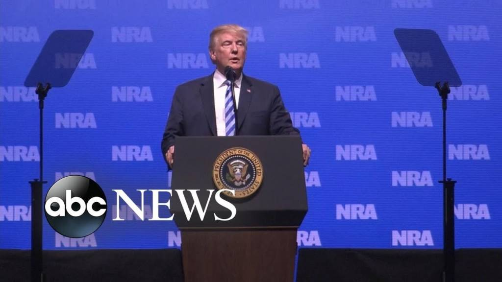 Trump To NRA: 'Gun Rights Will Never Be Under Siege As Long As I Am Your President'