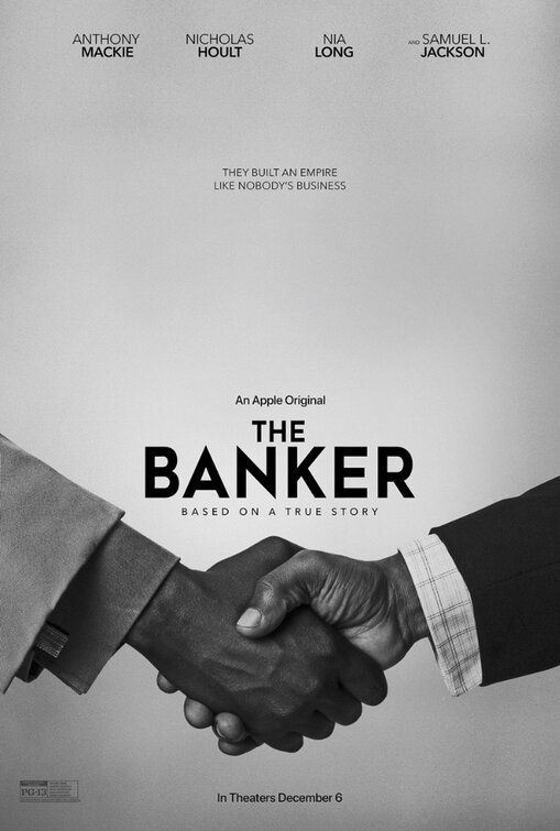 1st Trailer For Apple TV+ Original Movie 'The Banker' Starring Anthony Mackie, Samuel L. Jackson, & Nia Long
