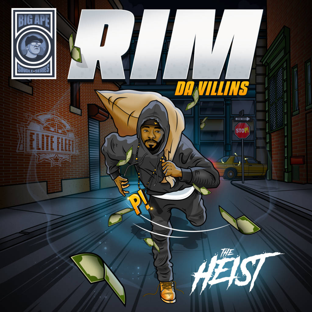 MP3: Rim (of Da Villins) & Big Ape - The Heist (@DaVillins)