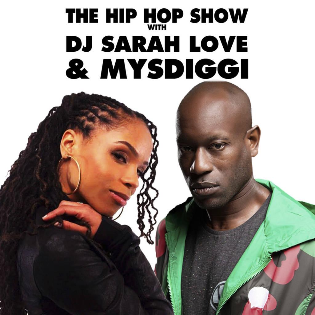 Ras Beats Chops It Up w/The Hip Hop Show w/DJ Sarah Love & MysDiggi (@MysDiggi @DJSarahLove @RasBeats)