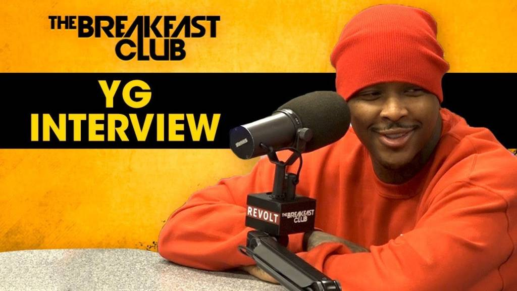YG Talks Fake Love Surrounding Nipsey Hussle's Passing, New Album, Hollywood, Clothing Line, & More w/The Breakfast Club