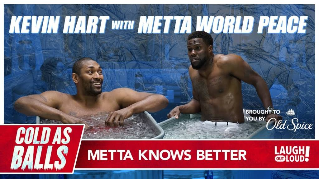 Kevin Hart Goes Head To Head w/Metta World Peace On 'Cold As Balls' ...And Lives To Talk About It