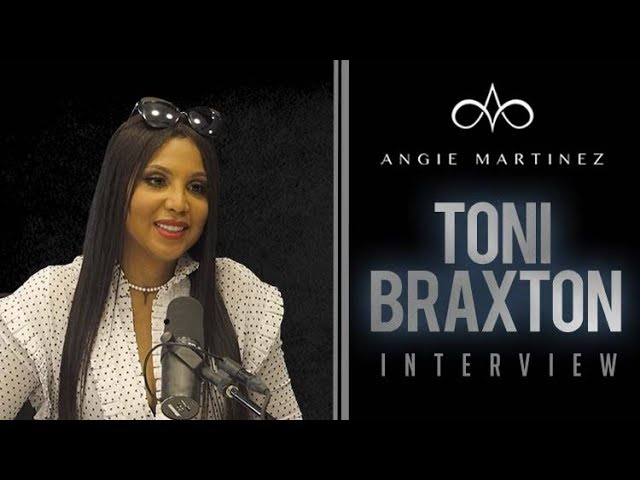 Toni Braxton Speaks On Relationship w/Birdman On The Angie Martinez Show