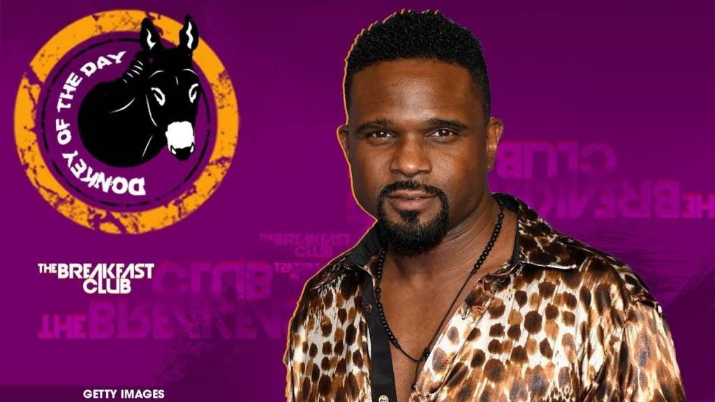 Charlamagne The God Awards Donkey Of The Day To Darius McCrary (Eddie Winslow)