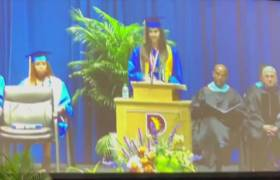 Texas High School Mutes Mic On Valedictorian That Mentioned Names Of Black Men Murdered By Racists