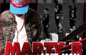 Last Man Standing mixtape by Marty B