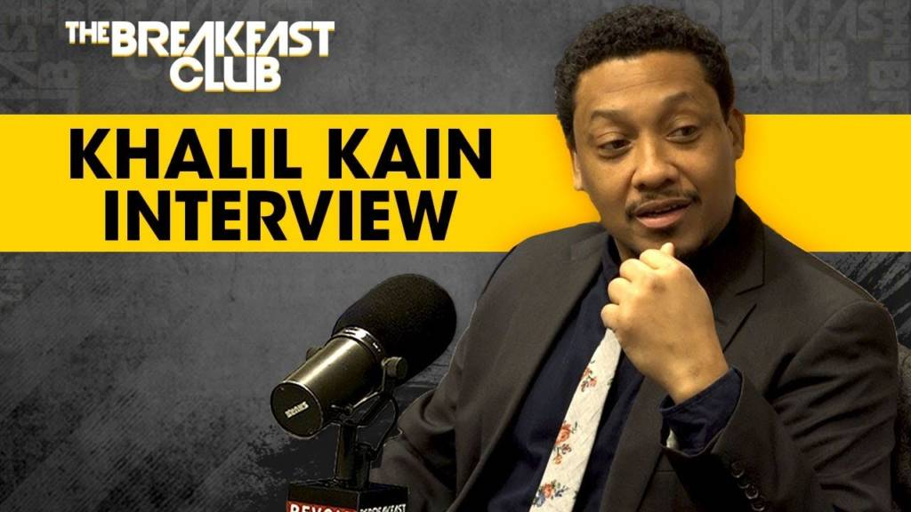 Khalil Kain Recalls Classic Film Roles, Working w/2Pac, & More w/The Breakfast Club