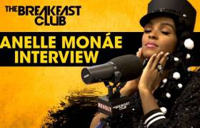 Janelle Monáe Talks New Album, Working w/Prince, Empowerment, & More w/The Breakfast Club (@JanelleMonae)