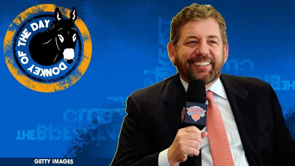 New York Knicks Owner James Dolan Awarded Donkey Of The Day For Banning 'Rude' Fan From All Games