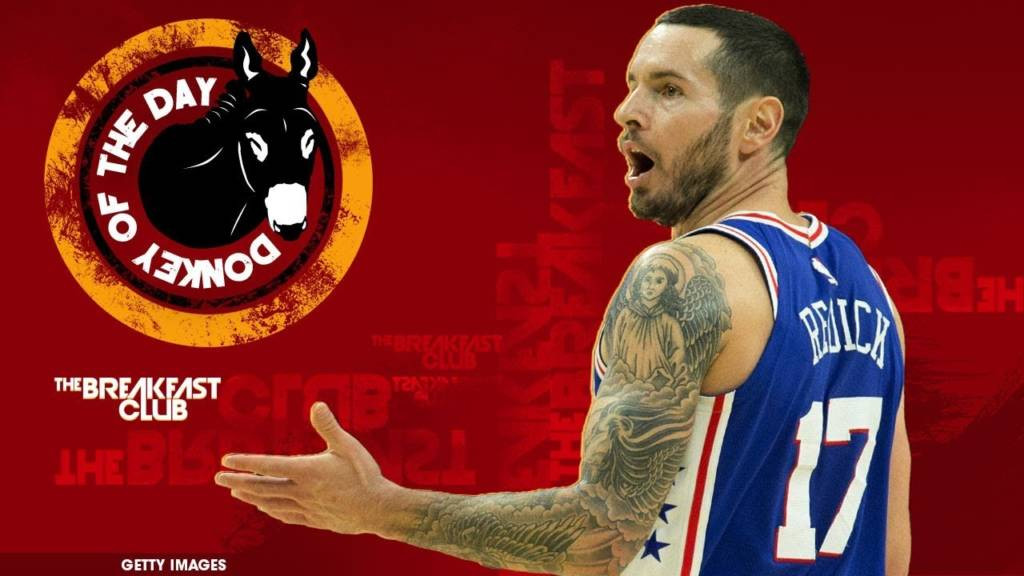 #DonkeyOfTheDay: Philadelphia 76ers' JJ Redick Slips Racial Slur Into Chinese New Year Video