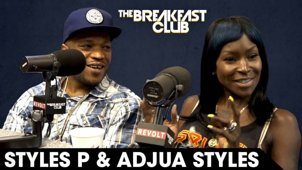 Styles P & His Wife Adjua Speak On Their Daughter's Suicide & More w/The Breakfast Club