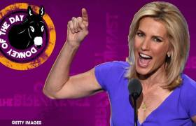 Faux News' Laura Ingraham Awarded Donkey Of The Day For Laughing & Joking While Reporting Nipsey Hussle's Funeral