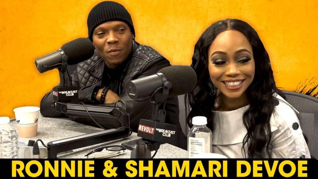 Ronnie & Shamari DeVoe On Maintaining Their Marriage, Open Relationships, RHOA, & More w/The Breakfast Club