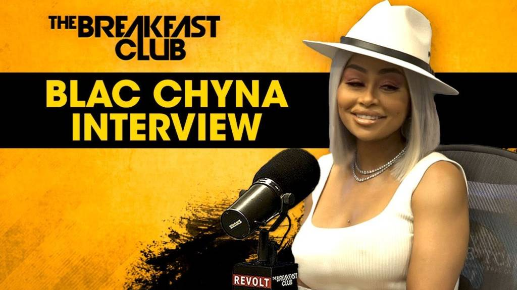 Blac Chyna Speaks On Anger Issues, Kardashians, Love, Motherhood, & More w/The Breakfast Club
