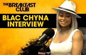 Blac Chyna Speaks On Anger Issues, Kardashians, Love, Motherhood, & More w/The Breakfast Club