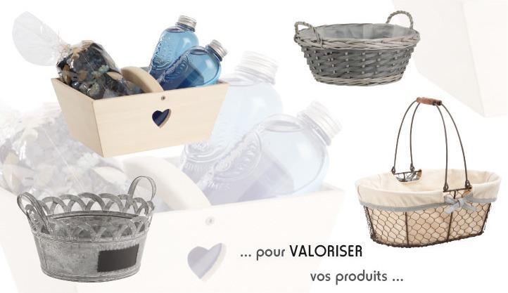 Vannerie Pack  grossiste fournisseur de corbeilles paniers contenants vannerie demballage