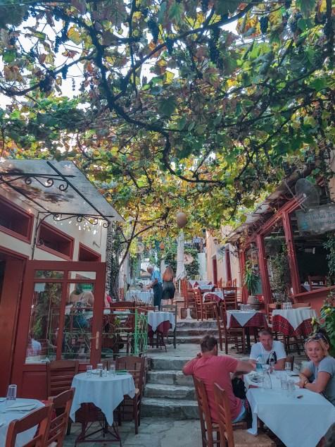 Griechische Taverne in Plaka