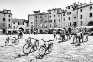 Piazza dell\'Anfiteatro - Lucca, Italië