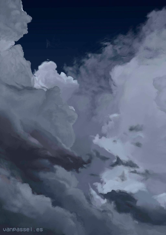 cloud drawing fondo