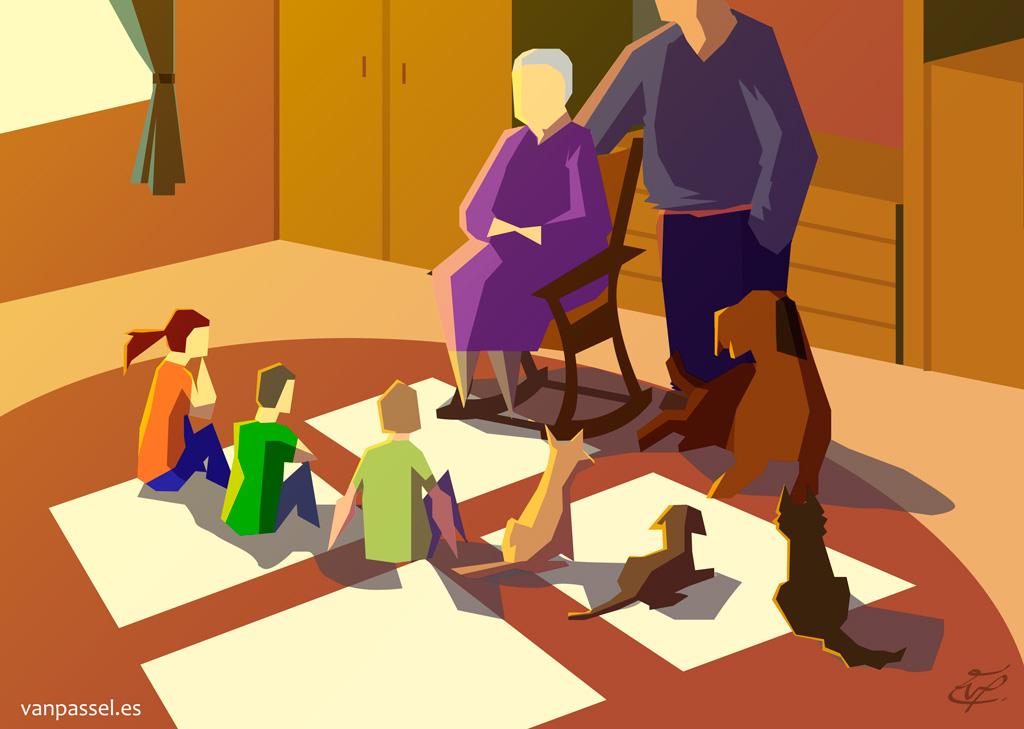 Nuestros viejos- Mayores cuidadores