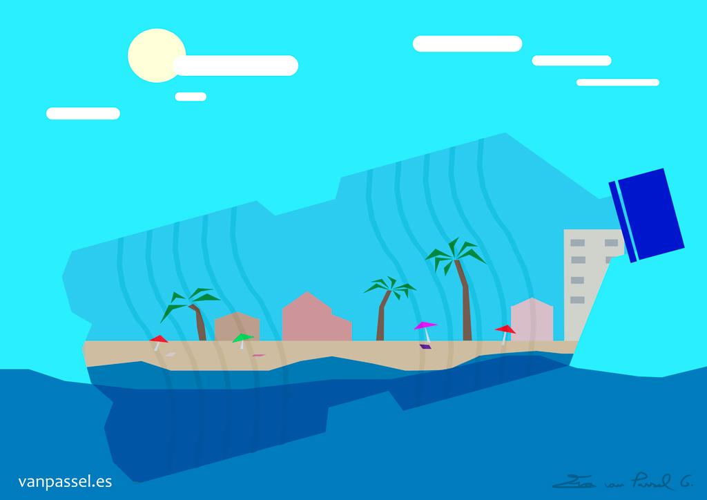 Mares limpios   Plásticos en el mar