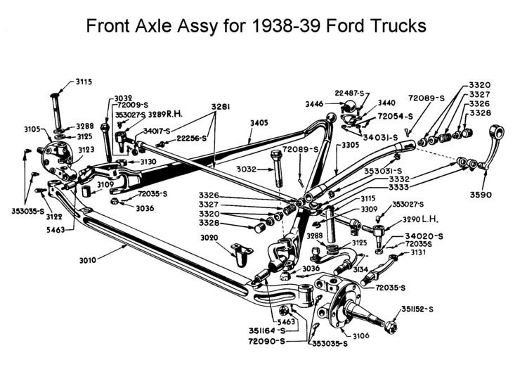 1932 Ford Frame Diagram, 1932, Free Engine Image For User