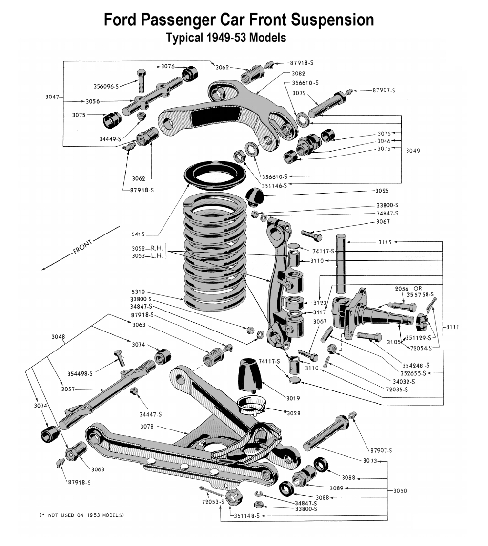 hight resolution of flathead parts drawings suspensions rh vanpeltsales com saturn front sway bar diagram saturn outlook front suspension
