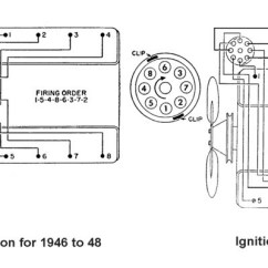 Ford 8n 12v Conversion Wiring Diagram Electrical Symbols And Diagrams Flathead Distributor Plug For 1946 To 1953