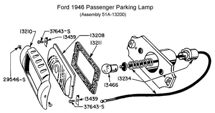 1953 ford flathead wiring