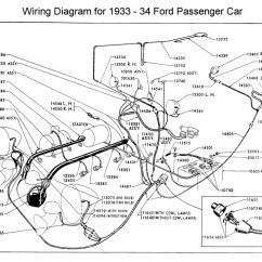 Lamp Wiring Diagram 1987 Kawasaki Bayou 300 Flathead Electrical Diagrams For 1933 34 Ford