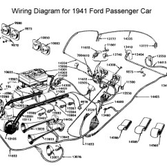 Wiring Diagram Automotive Stereo Guide Flathead Electrical Diagrams For 1941 Ford