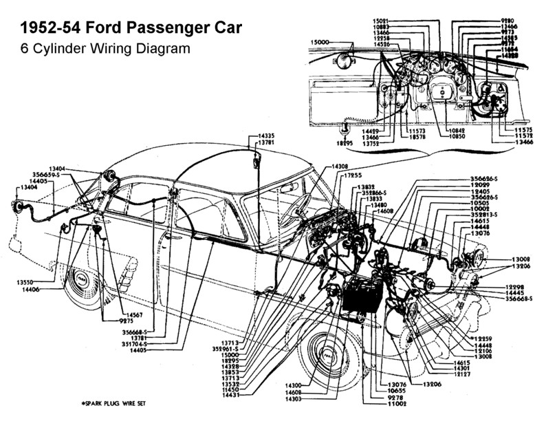 1949 1951 ford wiring diagram