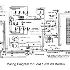 Electrical Wiring Diagram Light Switch Telephone Block Ford 41 Dataflathead Diagrams 1936
