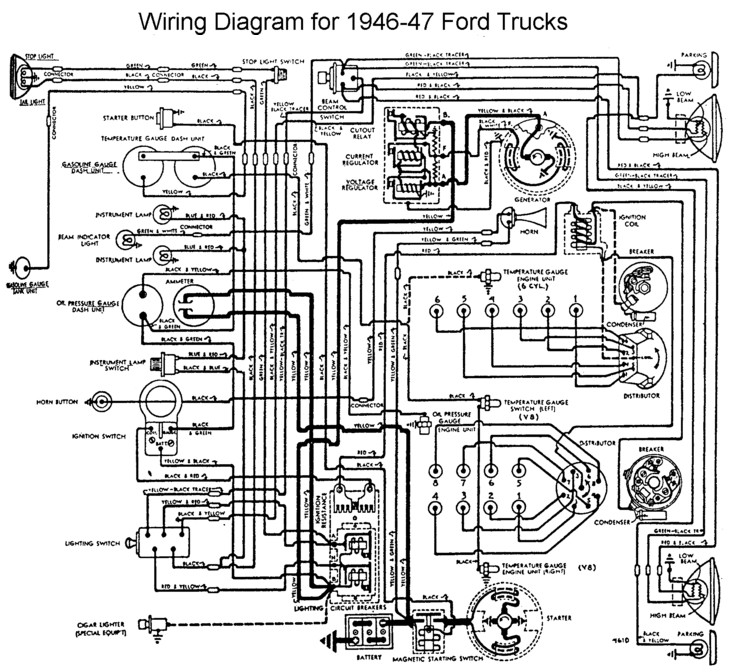 ford 302 electronic distributor wiring diagram 2006 nissan maxima engine 1946 great installation of harness third level rh 14 5 21 jacobwinterstein com 1950 flat head v8 351w