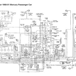 Ford 8n 12v Conversion Wiring Diagram Visio 2013 Uml Component Flathead Electrical Diagrams For 1950 51 Mercury Car