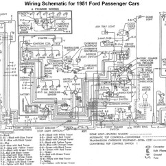 Cars Wiring Diagrams Ceiling Rose Diagram Uk Flathead Electrical For 1951 Ford Car