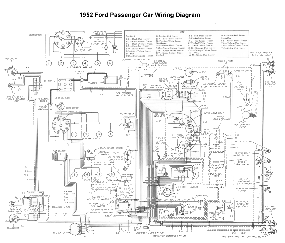hight resolution of wiring for 1952 ford car