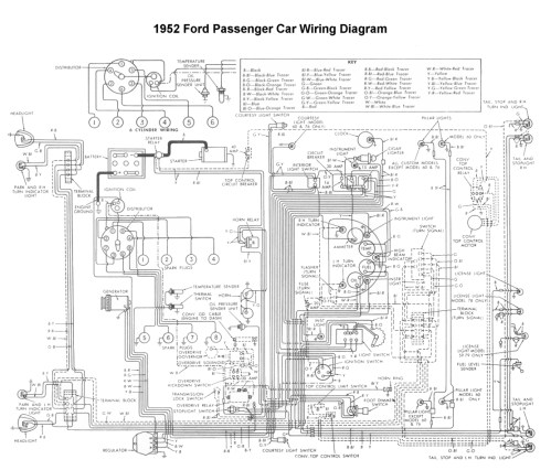 small resolution of 1951 ford wiring schematic