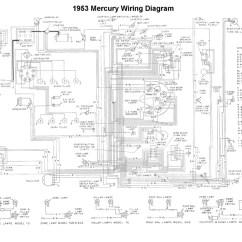 Mercury Wiring Diagram Nissan 350z Headlight Flathead Electrical Diagrams For 1953 Car