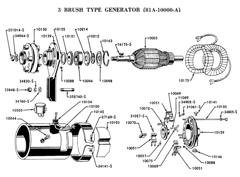 1953 ford generator wiring - wiring diagrams