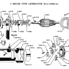 Wiring Diagram Automotive 1994 Ford Escort Flathead Electrical Diagrams Generator 3 Brush Type For 1938 39
