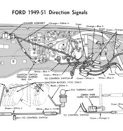 turn signal wire harness for 1949 51 ford car [ 1060 x 746 Pixel ]