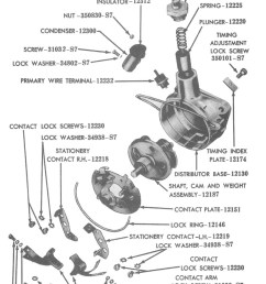 ford distributor for 1945 to 48 v8 photo guts  [ 800 x 1314 Pixel ]