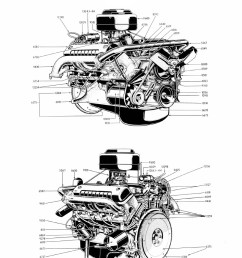 complete 239 272 292 engine left right view  [ 800 x 1035 Pixel ]