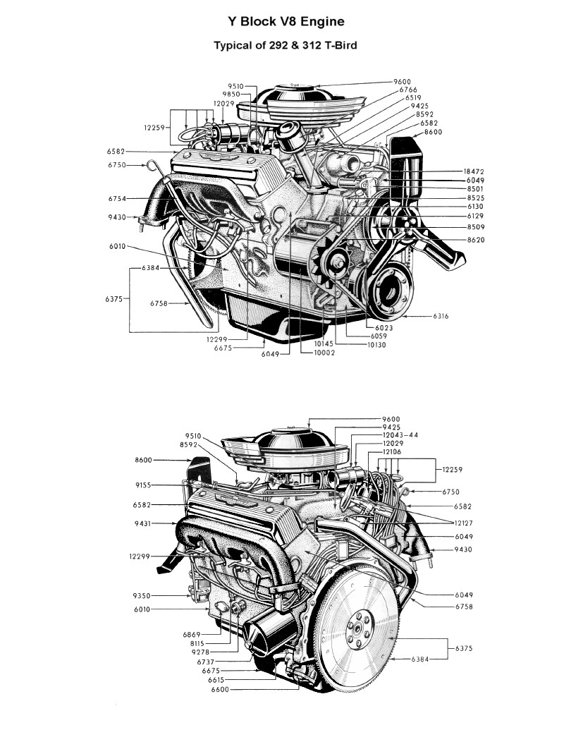 Flathead Engine Cutaway, Flathead, Free Engine Image For