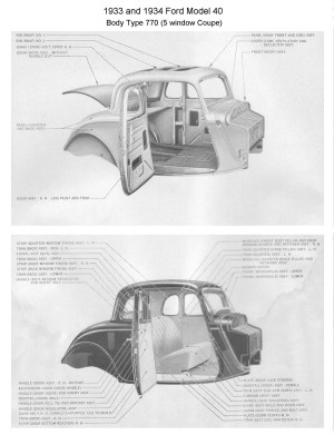 1930 Ford Coupe Parts 1930 Circuit Wiring Diagram Picture | Upingcarshq